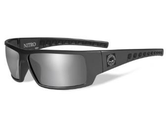 HD Nitro Grey Silver Flash Shiny Grey Frame