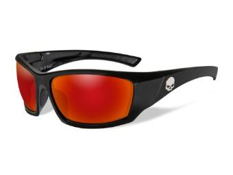 HD TAT Red Mirror Gloss Black Frame