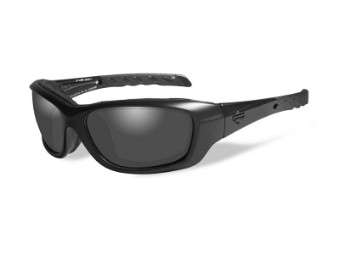 HD Gravity Smoke Grey Matte Black Frame