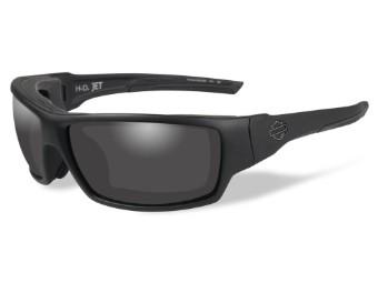 HD Jet Smoke Grey Matte Black Frame