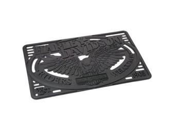 H-D Eagle Entry Mat