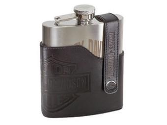 H-D Bar & Shield Flask