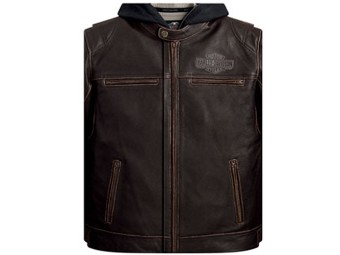 Men`s Leather Jacket-Money/GC
