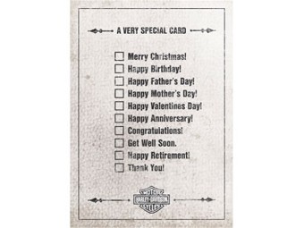 H-D Very Special All Occaasion Card