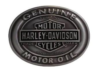 Man Buckle Genuine Motor Oil