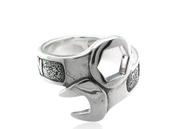 Wrench Ring with Harley-Davidson wri
