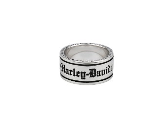 Men`s Old English Script Band Ring