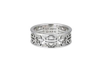 B&S Medallion Band Ring