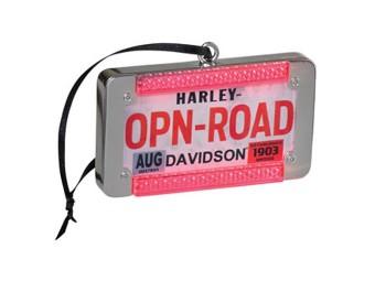H-D LED License Plate Ornament