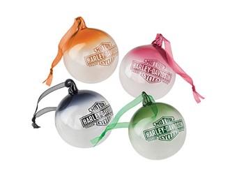 W19-Multi colored Ball Ornament Set