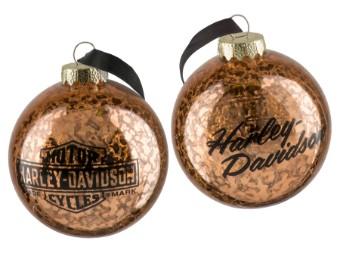 W19-Copper Ball Ornament