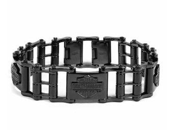 Blackout Bike Chain B&S Bracelet