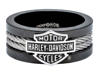 Steel Cable Band Ring