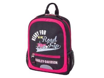 Mini Backpack-Pink/Black