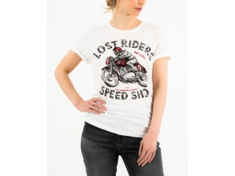 Lost Riders Lady White White Lady T- Shirt