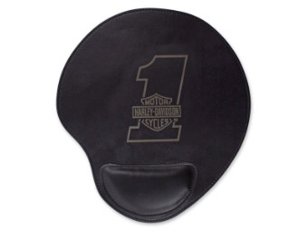 Mousepad B&S Black Leatherette