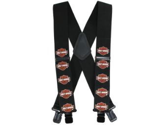 Suspenders, Bar & Shield, Extra Long