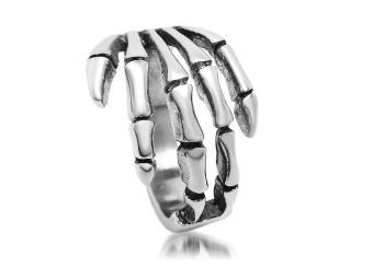 Ring, HD Etchd Skull