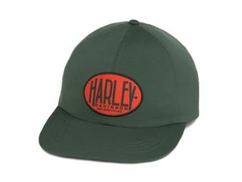 CAP-BB,WOVEN,GREEN