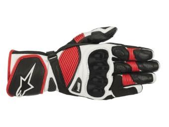 SP-1 V2 Gloves Motorrad Lederhandschuhe