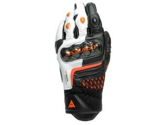 Carbon 3 Short Leder Motorradhandschuhe