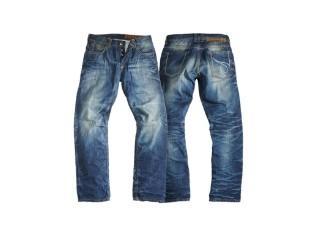 Jeans, Rebel, Rokker, Blau