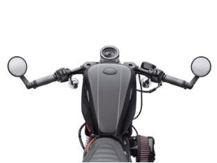 Lenkerkit, Clip-On, 55mm Gabel, Harley-Davidson, Schwarzglänzend