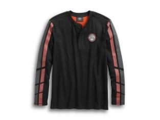 Hemd, Dual Stripe, Harley-Davidson, Schwarz