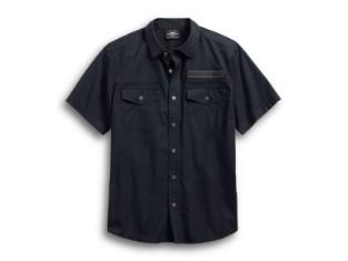 Hemd, Winged Skulls, Harley-Davidson, Schwarz