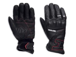 Handschuhe, Biltmore, Harley-Davidson, Schwarz