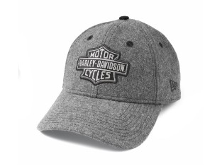 Cap, Bar & Shield, 9TWENTY, Verstellbar, Harley-Davidson, Grau
