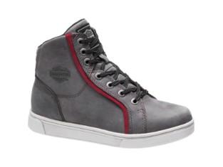 Schuhe, Mackey, Harley-Davidson, Grau
