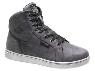 Schuhe, Midland, Harley-Davidson, Grau