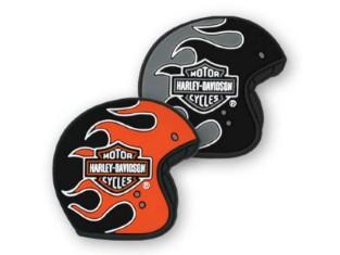 Magnete, Flaming Helme, Harley-Davidson, Set