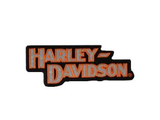 Patch, H-D Reflektion, Harley-Davidson, Schwarz/Orange