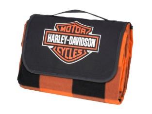 Picknickdecke, Bar & Shield, Harley-Davidson