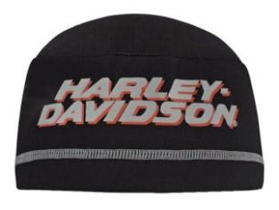 Mütze, Skull, Harley-Davidson, Schwarz