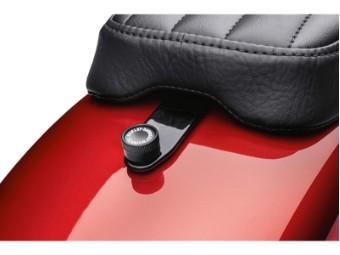 Montagekit für abnehmbaren Sitz, Harley-Davidson, Schwarz