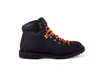 Schuhe, Adventure Denver, Biker Boot, Schwarz