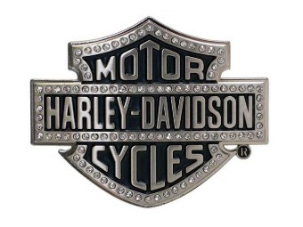 Gürtelschnalle, Lineage, Bling, Bar & Shield, Harley-Davidson