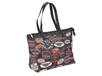 Tasche, Vintage Collection, Harley-Davidson, Mehrfarbig