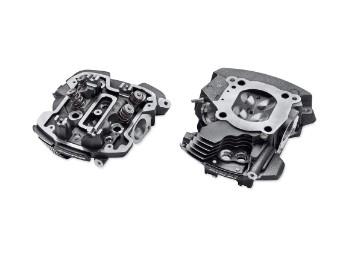 Zylinderköpfe, CNC gefertigt, Screamin' Eagle, Harley-Davidson, Schwarz/Granit