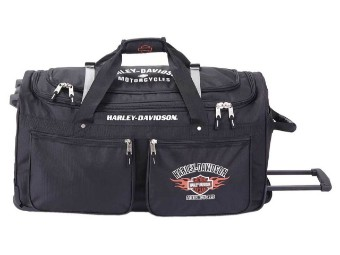 Reisetasche, Harley-Davidson, Schwarz