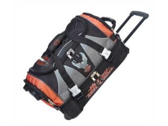 Reisetasche, ca. 53 cm, Harley-Davidson, Schwarz