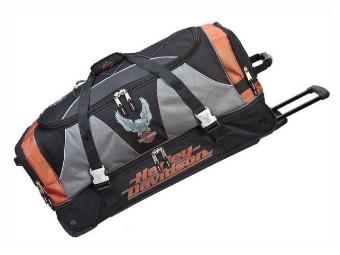Reisetasche, ca. 81 cm, Harley-Davidson, Schwarz