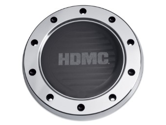 Derby Deckel, HDMC, Harley-Davidson, Schwarz