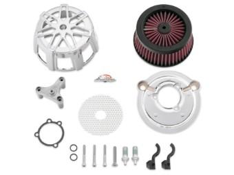 Luftfilter, Screamin' Eagle, Chisel Extreme Billet Kit, Harley-Davidson, Chrom