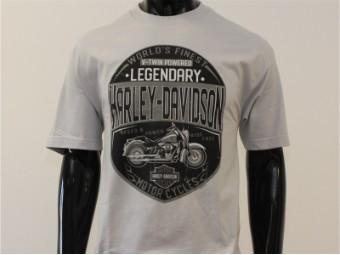 T-Shirt, Rumble Defenders, Harley-Davidson, Grau