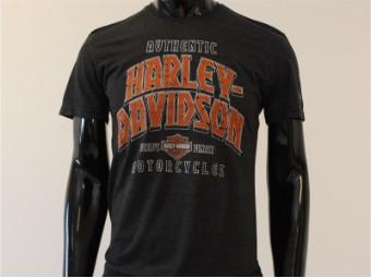 T-Shirt, Charge Forward, Harley-Davidson, Grau