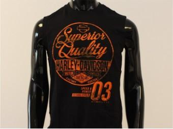 Tank-Top, Amplify, Harley-Davidson, Schwarz